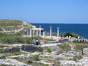 The Greek colony of Chersonesus, Sevastopol.
