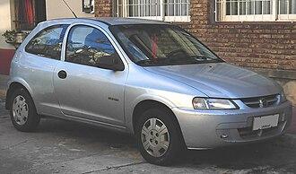 Chevrolet Celta - First generation Chevrolet Celta