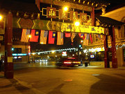The Chinatown Gate in Chinatown, Chicago