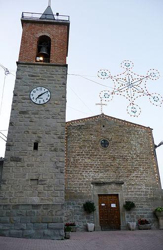 Crognaleto - Santa Maria Lauretana church in Poggio Umbricchio