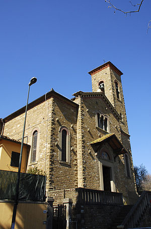 Galluzzo - Galluzzo: the church of Santa Lucia.