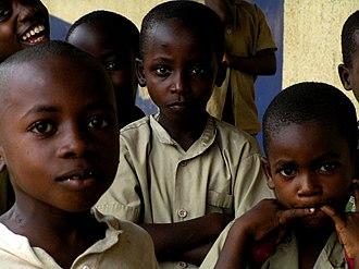 Burundi - Children in Bujumbura, Burundi