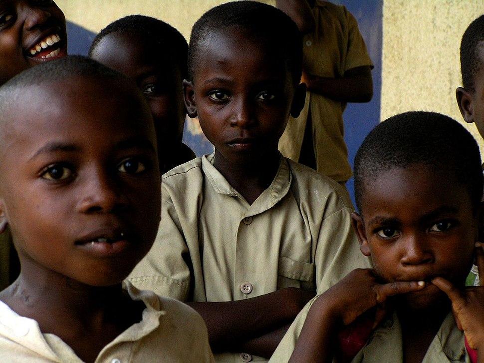 Children in Bujumbura