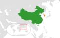China South Korea Locator.png