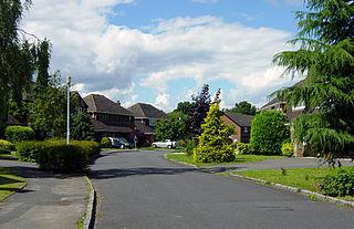 Chineham Human settlement in England