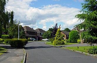 Chineham - Image: Chineham Residential Road