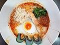 Chok tomyam (tomyam congee), seafood ver, Bangkok, 2018-01-21 (2).jpg