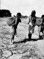 Choroti; kvinnor med bördor. Gran Chaco. Bolivia - SMVK - 004771.tif