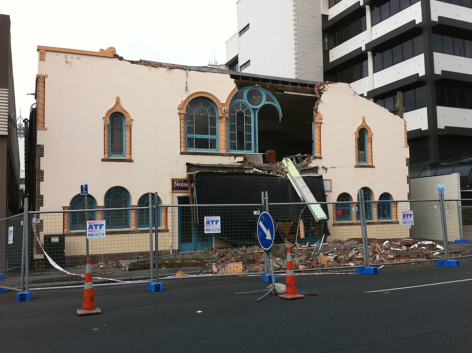 ChristchurchEarthquake RepertoryTheatre gobeirne