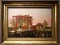 Christen koebke, il ponte levatoio settentrionale della cittadella di copenhagen, 1837.jpg