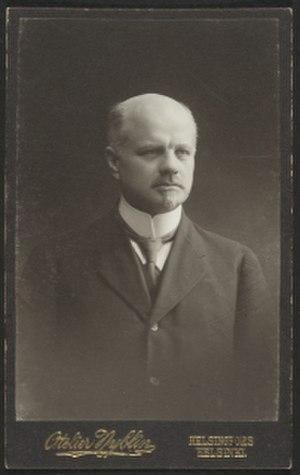 Christian Sibelius - Christian Sibelius in the 1910s.