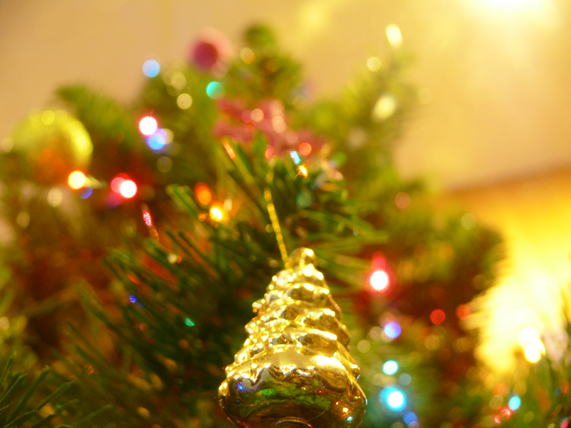 Photo of an artificial christmas tree by Kelvinsong http://commons.wikimedia.org/wiki/File:Christmas_Tree.png?uselang=en-gb