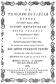 Christoph Willibald Gluck - Il trionfo di Clelia - titlepage of the libretto - Bologna 1763.png