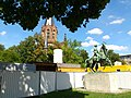 Christuskirche ^ Leibdragonerdenkmal - panoramio.jpg