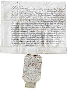 Deacon wikipedia certificate of ordination as a deacon in the church of england given by richard terrick the bishop of london to gideon bostwick february 24 1770 yadclub Choice Image