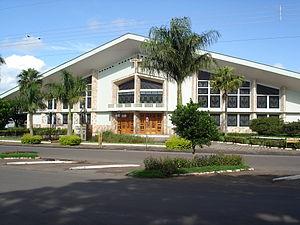 Araruna, Paraíba - Image: Church of St. Anthony Araruna 04220