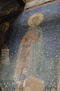 Church of the Holy Apostles, figure of a Saint.JPG