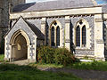 Church of the Holy Cross, Goodnestone - south porch and nave 02.jpg