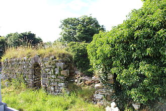 Killarga - 6th c. church of St Fearga