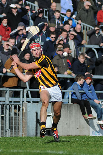 Kilkenny GAA - Cillian Buckley in action in a National Hurling League game against Galway in Pearse Stadium