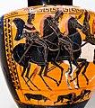 Circle of the Antimenes Painter - ABV extra - warriors departing with chariot - Scythian horsemen - Roma MNEVG - 03.jpg
