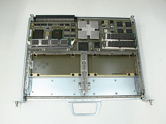 Forwarding plane - Cisco VIP 2-40, from an older generation of routers.