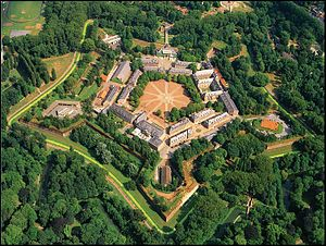 Headquarters Rapid Reaction Corps – France - Lille's Citadelle aerial view