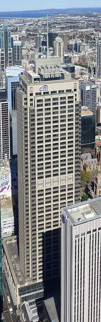 Citigroup Centre, Sydney - Citigroup Centre top