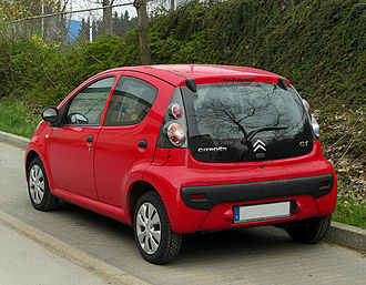 Citroën C1 - Facelift (2009)