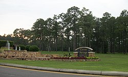 The gateway to Citrus Springs on the west side of US 41