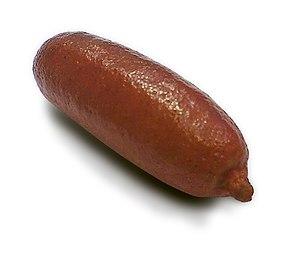 Citrus australasica - Red finger lime.