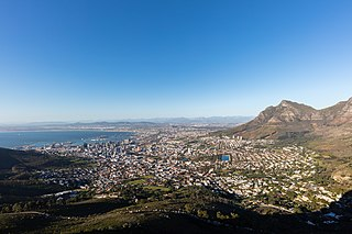 City Bowl Region of Cape Town, South Africa