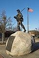 Civil War memorial, East Providence, Rhode Island full view.jpg