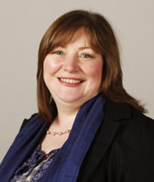 4th Scottish Parliament - Image: Clare Adamson MSP20110507