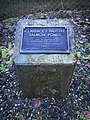 Clarence F. Pautzke Salmon Pond plaque.jpg