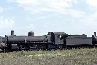 South African Class 10 4-6-2 - Image: Class 10 no. 745