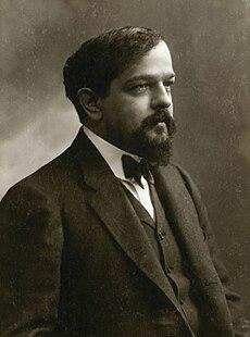 Claude Debussy cirka 1908 Foto av Félix Nadar