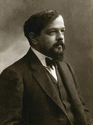 Claude Debussy, photo by Félix Nadar, ca. 1908.
