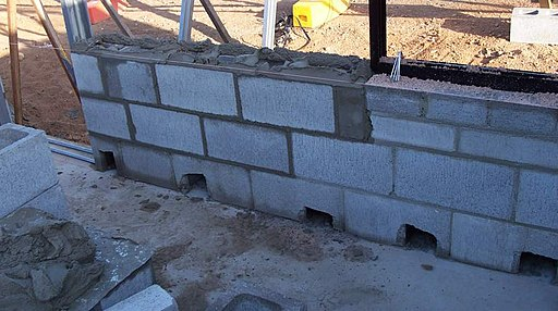 How to Place Rebar During a CMU Wall Construction
