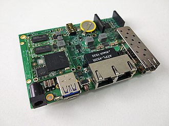 Single-board computer - ClearFog SBC by SolidRun, based on a Arm Cortex-A9 Dual SoC.