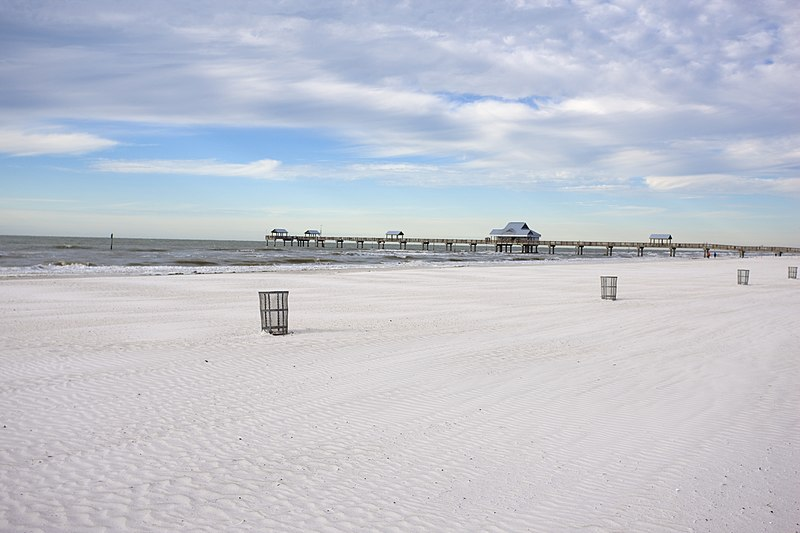 Praias perto de Orlando