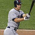 Cleveland Indians center fielder Grady Sizemore (24) (5938733459) (cropped1).jpg