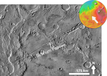 Close up view to eastern part of Sirenum Fossae based on day THEMIS.png