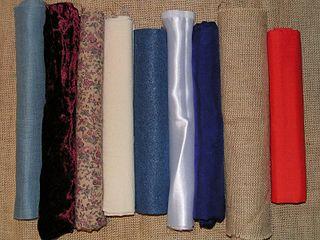 Textilien umfasst textile Rohs