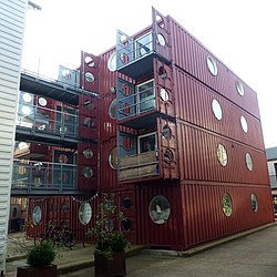 Container city wikipedia for Conteneur appartement
