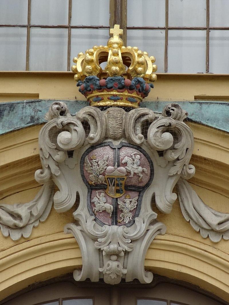 Coat of arms Moritzburg Castle.jpg