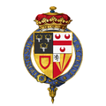 Coat of arms of Henry Cavendish, 2nd Duke of Newcastle-upon-Tyne, KG, PC.png