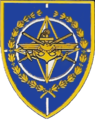 Coat of arms of the International Military Staff.png