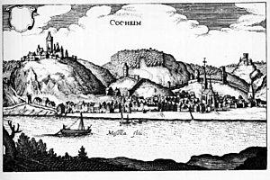 Cochem - Cochem in 1646