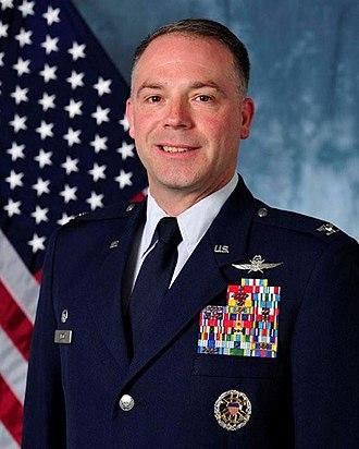 Craig Wilcox - Image: Col Craig Wilcox 89th ASG CMDR